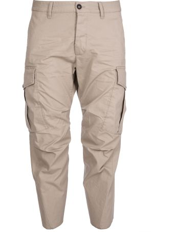 Dsquared2 Cargo Cropped Pants