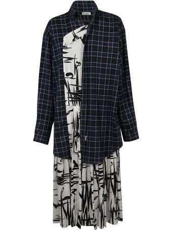 Balenciaga Layered Shirt Dress