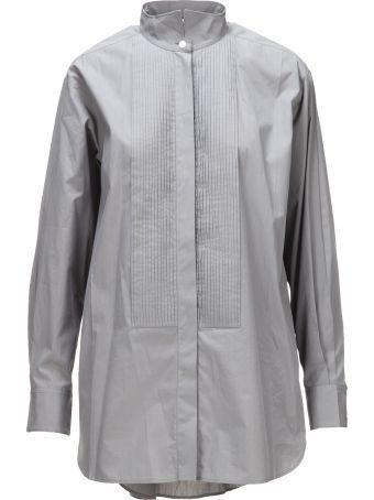 Celine Céline Pleated Shirt