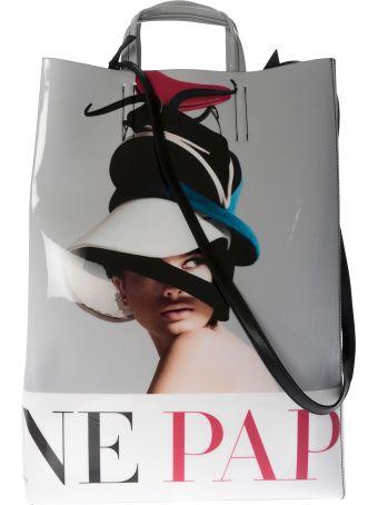 Acne Studios Printed Shopper Bag