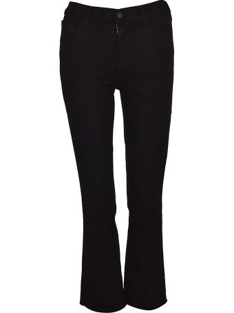 J Brand Flared Mid-rise Jeans