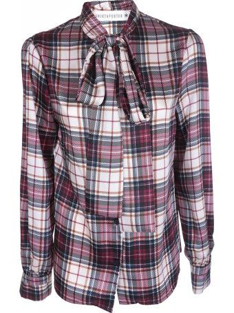 Shirt a Porter Tartan Printed Shirt