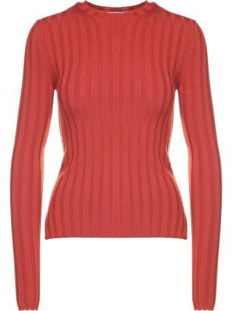 Acne Studios Carina Ribbed Wool-blend Top