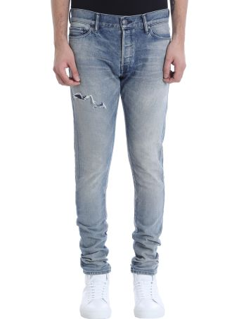 John Elliott Blue Denim Jeans