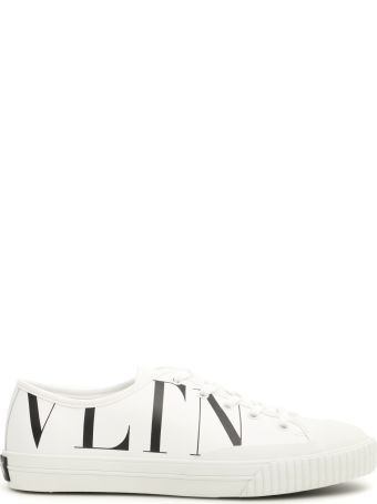 Valentino Leather Vltn Sneakers