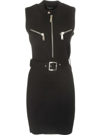 Dsquared2 Belted Dress