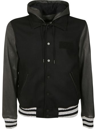 Off-White Contrast Bomber