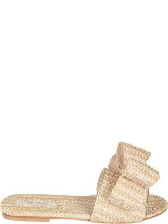 Polly Plume Lola Bow La Isla Bonita Flat Sandals