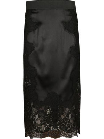 Dolce & Gabbana Midi Lace Skirt
