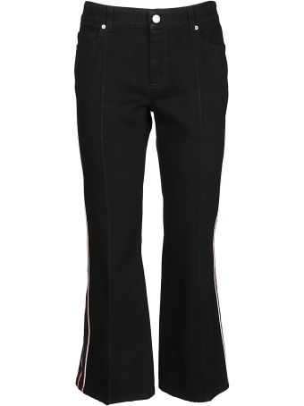 Alexander McQueen Striped Jeans