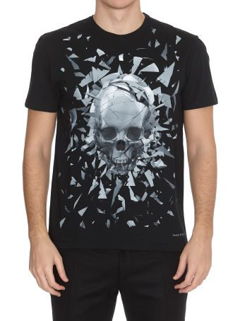 Alexander McQueen Shattered Skull T-shirt