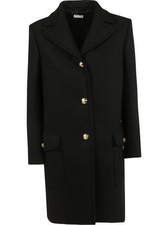 Miu Miu Single Breasted Coat