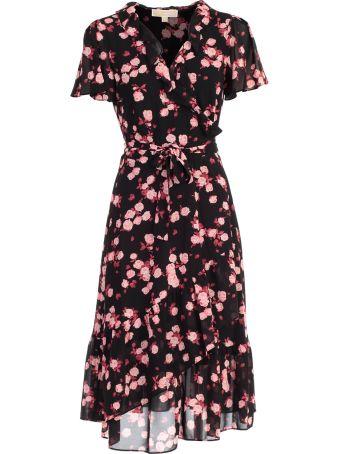 MICHAEL Michael Kors Dress S/s Poly Georgette Fant Volant