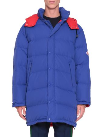 Gucci Blue Down Jacket