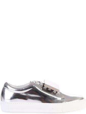 Acne Studios Metallic Adriana Turnup Sneakers