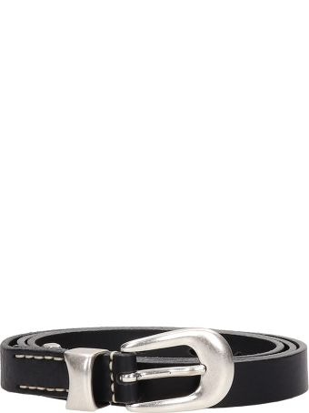 Our Legacy Black Leather Belt