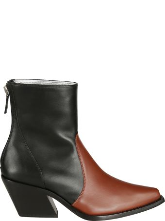Givenchy Two-tone Ankle Boots