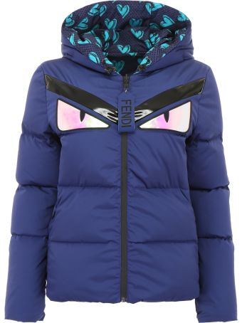 Fendi Reversible Monster Puffer Jacket