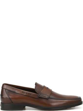Tod's Rubber Sole Classic Leather Loafers