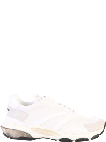 Valentino Garavani White Bounce Sneakers