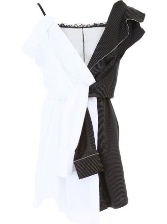 Deconstructed Pyjama Dress