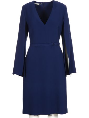 Stella McCartney Split Sleeve Midi Dress