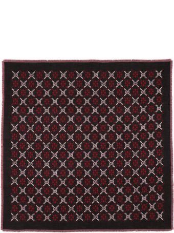 Gucci Gg Diamonds Wool Scarf