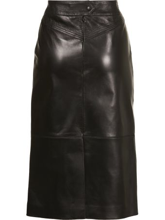 Givenchy Mid Length Pencil Skirt