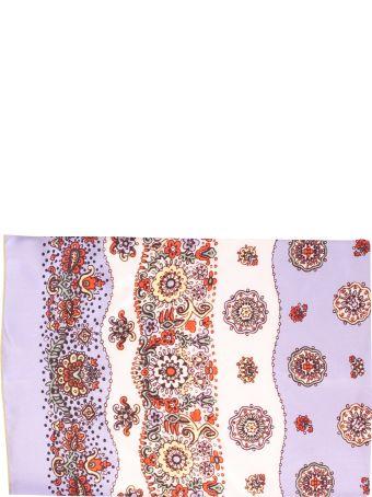 Multicolored Printed Foulard
