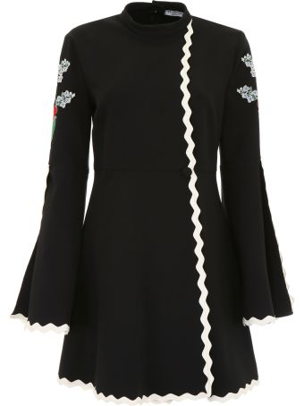 Embroidered Isabey Dress