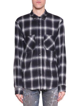 AMIRI Check Flannel Shirt