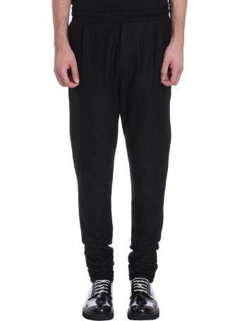 Low Brand Black/grey Wool Pants