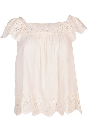Ulla Johnson Floral Laced Top
