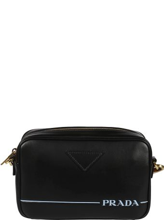 Prada Logo Detail Shoulder Bag