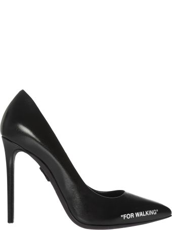 Off-White For Walking Print Pumps