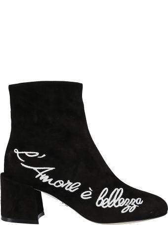 Dolce & Gabbana L'amore è Bellezza Ankle Boots