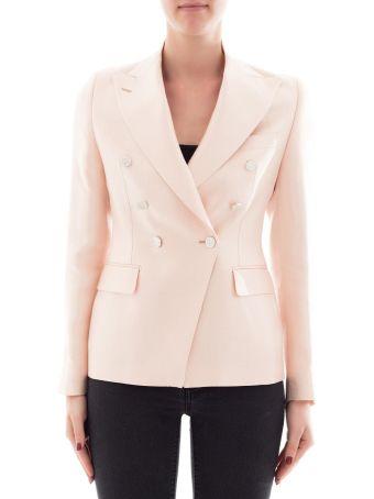 Pink Fabric Jacket
