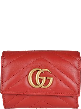 Gucci Gg Marmont French Wallet