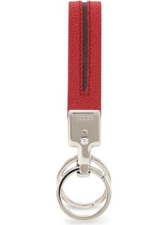 Tod's Leather Key Holder