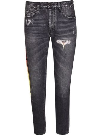 Marcelo Burlon Wings Slim Jeans