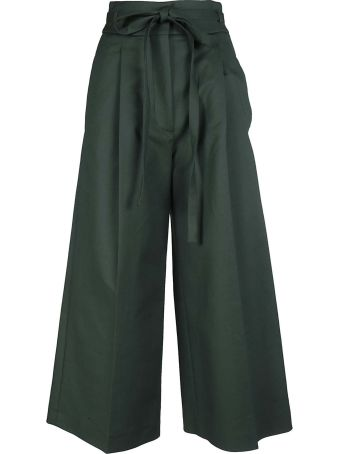 Rochas Wide-leg Cropped Trousers