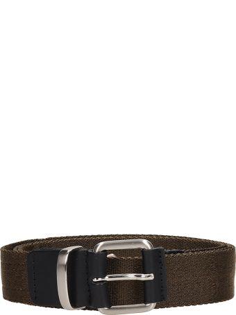 Low Brand Green Fabric Belt