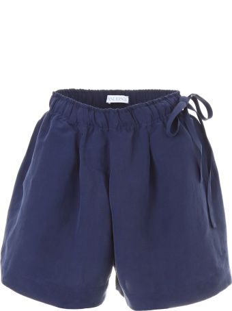 Shorts With Leather Pocket