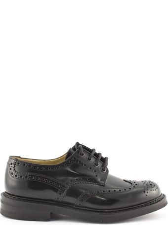 Church's Black Leather Mcpherson Brogues.