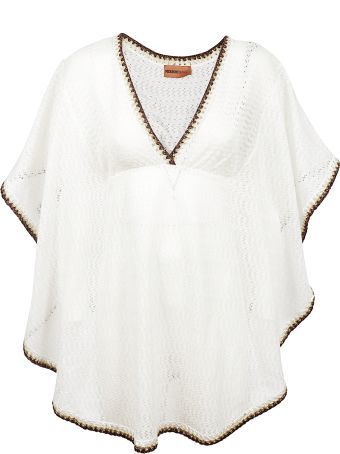 Missoni Embroidered Shift Blouse