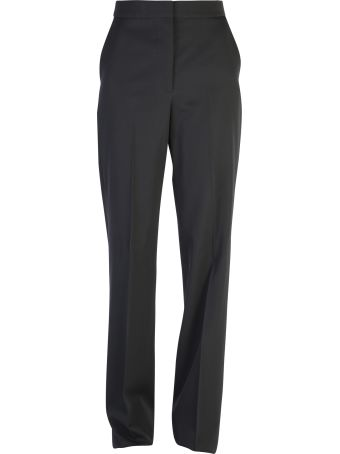 Stella McCartney Black Wide Leg Trousers