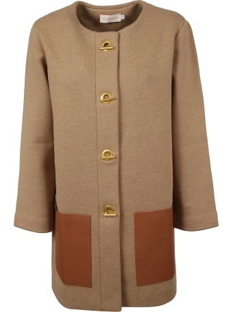 Tory Burch Classic Leather Coat
