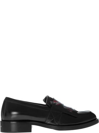 Givenchy Printed Fringed Loafers