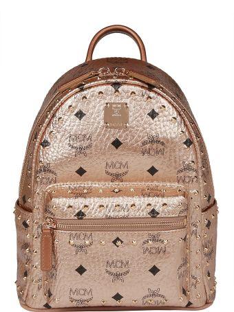 MCM Mini Stud Stark Backpack