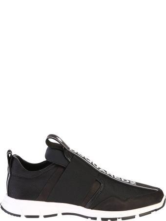 Dsquared2 Black Branded Sneakers